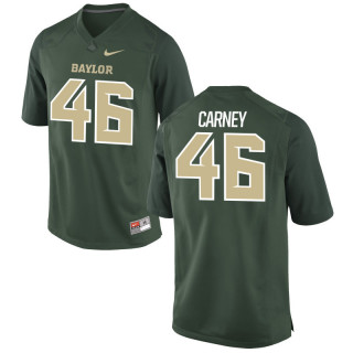 Youth  Game Green Miami Hurricanes Alumni Jersey | O'Juan Carney